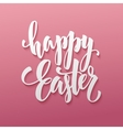 Happy Easter Egg lettering vector image