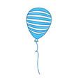 united states of america balloon celebration vector image