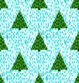 Pixel seamless pattern vector image vector image