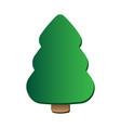 christmas tree art vector image
