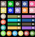 film icon sign Set from twenty seven multicolored vector image
