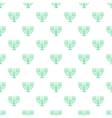 Menorah pattern cartoon style vector image