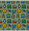 oil industry seamless pattern vector image