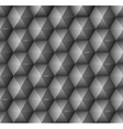 Abstract background with black hexagons vector image vector image