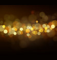soft bokeh and lights vector image