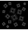 Geometric seamless simple monochrome minimalistic vector image