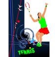 poster tenn 001 vector image vector image