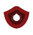 antivirus icon on white background vector image