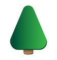 pine tree logo icon template vector image