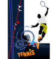 poster tenn 002 vector image vector image