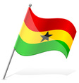 flag of Ghana vector image