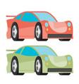 car icon fast racing automobile vector image