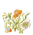 Foral ornament art vector image