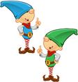 Elf Mascot Having An Idea vector image