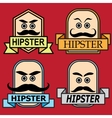The icons and emblems for various purposes vector image vector image
