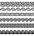 Greek design elements vector image
