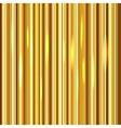 Golden stripes background vector image vector image