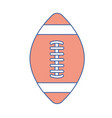 american football tool to play the sport vector image