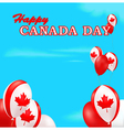 Canada Day background vector image
