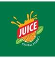 logo juice vector image