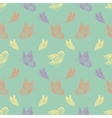 Seamless background with butterflyes vector image vector image