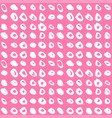 brush seamless pattern background collection vector image