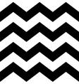 Zig zag lines seamless pattern vector image vector image