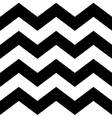 Zig zag lines seamless pattern vector image
