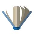 book library learn school shadow vector image
