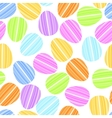 easter egg in bright strip vector image