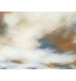 Creamy clouds vector image vector image