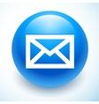 Mail symbol paper vector image