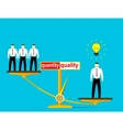 Concept of recruitment vector image vector image