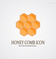 Honey icon vector image