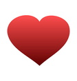 Red heart icon isolated vector image