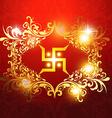 swastik symbol vector image
