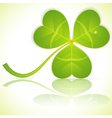 st patrick clover vector image vector image