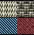 Carbon fiber kevlar and decorative vector image