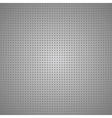 Structured gray metallic perforated sheet vector image