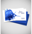 Watercolor design cards vector image vector image