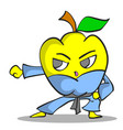 collection stock fruit character vector image