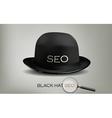 Seo black hat vector image