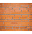 Background red brick wall EPS10 vector image