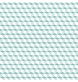 Cubes pattern in blue vector image