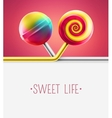Sweet Life vector image vector image