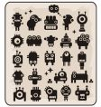 robot monsters vector image