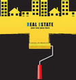 Roller real estate vector image vector image