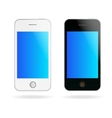 touch phones vector image
