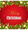 Christmas Vintage Retro Card vector image vector image