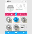 browser and mobile devices business infographic vector image